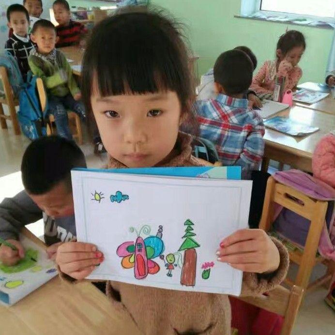 设计名字幼儿画画
