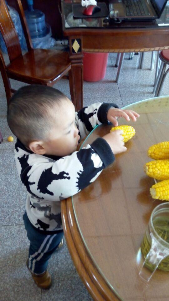 孩子都喜欢吃玉米
